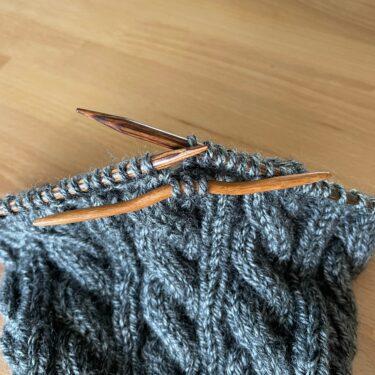 Jason's Cashmere Hat Work-In-Progress 2(本体)